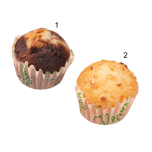 Assortimento mini muffin vegani, 2 varietà
