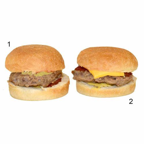 Assortimento di mini hamburger, 2 varietà