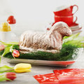 Agnello di Pasqua, da decorare