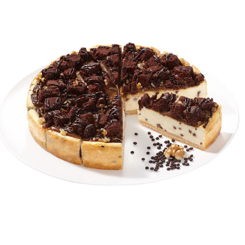 "Cheescake Supreme ""caramello-brownie"",pretagliata"