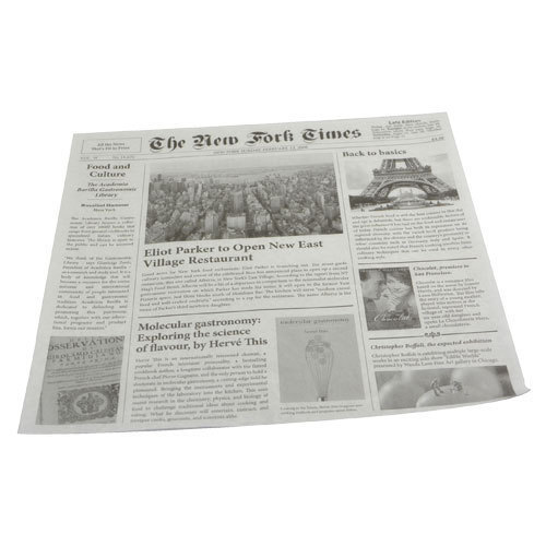 "Carta ""giornale New York Times"""